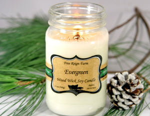 Evergreen - Wood Wick Candles