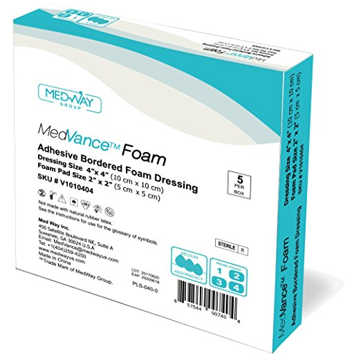 MedVance™ Foam - Adhesive Bordered Foam Dressing