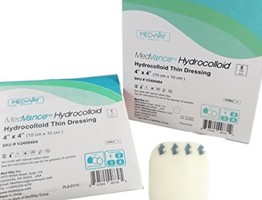 MedVance™ Hydrocolloid Thin Dressing without Border