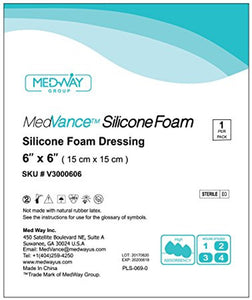 MedVance™ Silicone Foam without Border