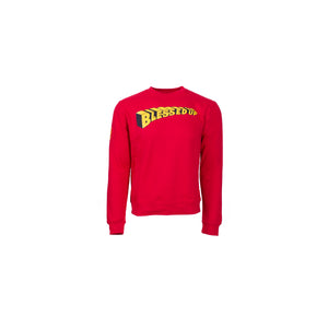 Blessed Up Red Sweatshirt