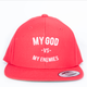 MGVME Red Snapback