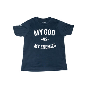 Youth Navy Blue MGVME Tee