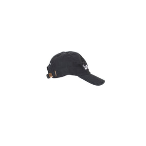 I'm Just Out Here Trusting God Black Night Dad Hat