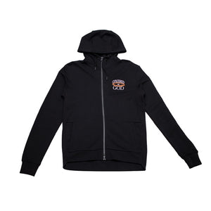 COVERED BY GOD ATHLETIC HOODIE - BLACK