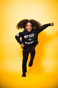 MGVME Black Night Hoodie Toddler