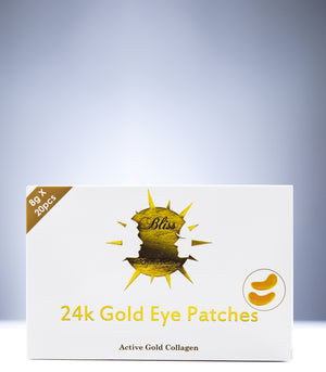 24K Gold Eye Patches - 20 Pairs