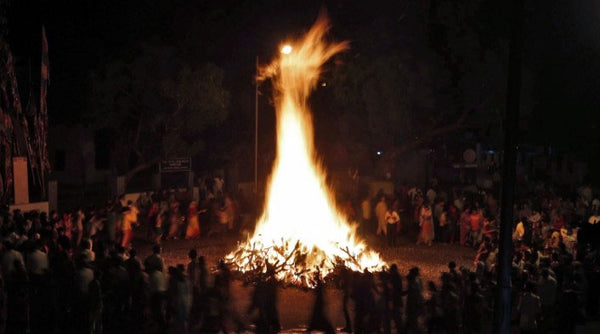 Holika Dahan Holi Festival of Colors Getart