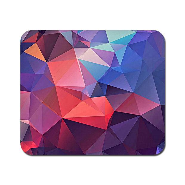 Large Abstract Fusion Triangle Mousepad