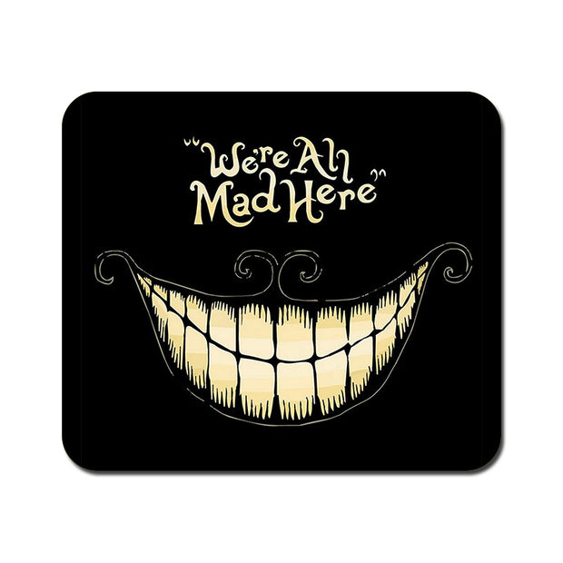 Large All are Mad Mousepad