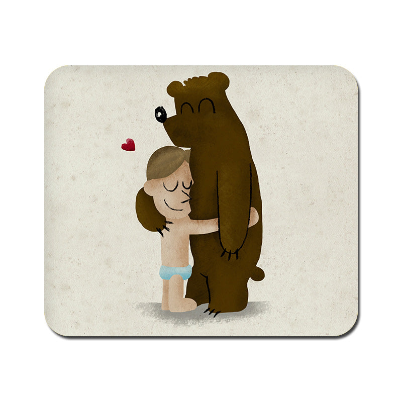 Large Bear Hug Mousepad