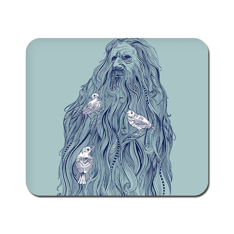 Large Beards Nest Mousepad