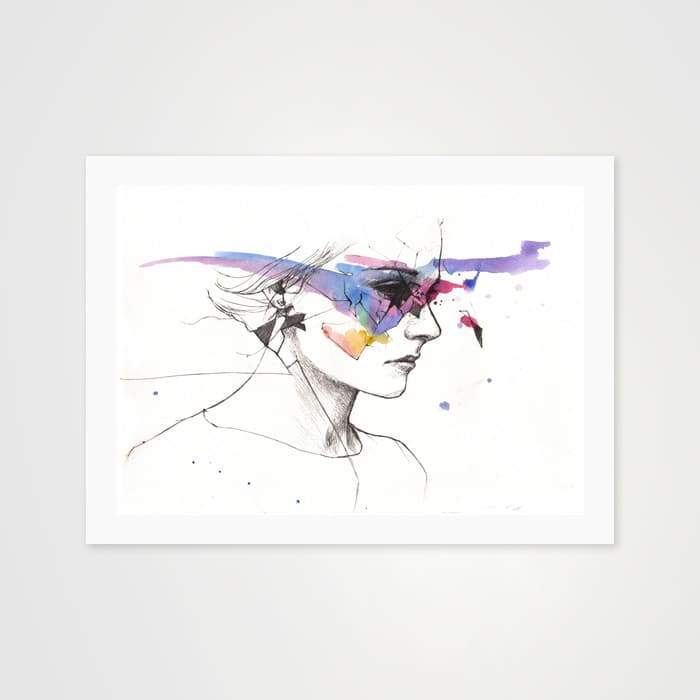 Broken - High Quality Art Print For Your Wall