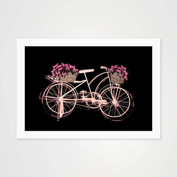 Pink on Wheels - High Quality Art Print For Your Wall-Art Prints-GetArt