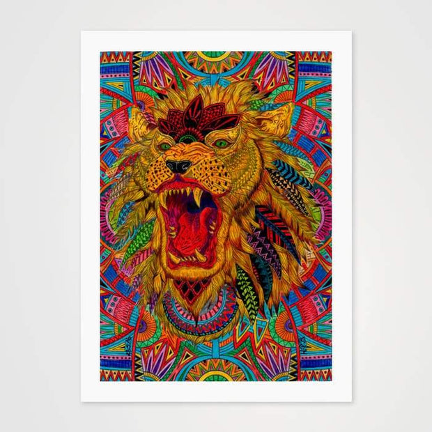 The Royal Trip - High Quality Psychedelic Art Print For Your Wall-Art Prints-GetArt