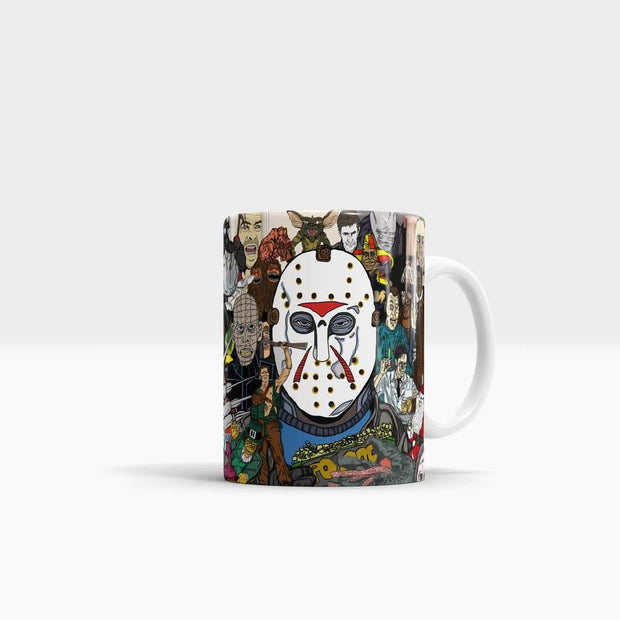 The Horror Icons (1971-1996) - High Quality Pop Art Coffee Mug-Coffee Mug-GetArt