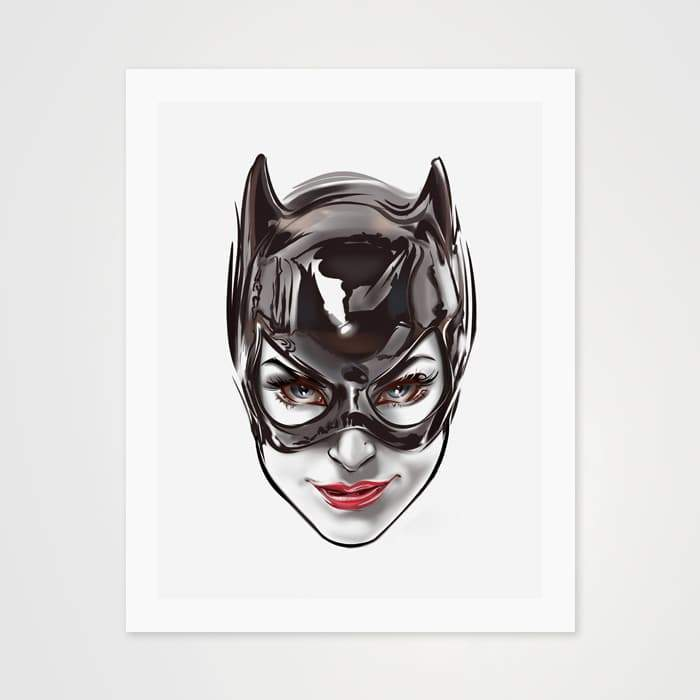 Catwoman Fan Art - High Quality Pop Art For Your Wall-Art Prints-GetArt