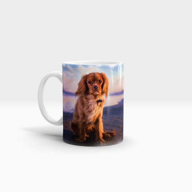 Colors of Cavalier King Charles Spaniels- High Quality Art Coffee Mug-Coffee Mug-GetArt