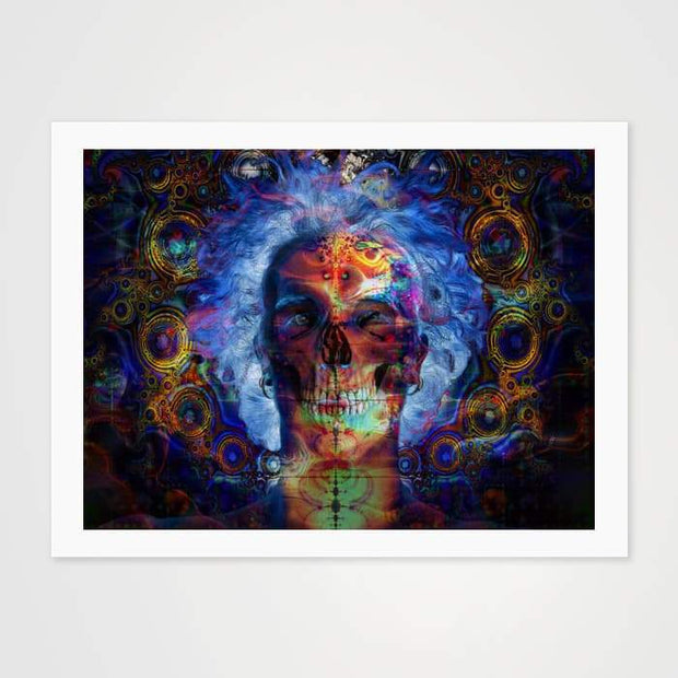 Inner Demons- High Quality Psychedelic Art Print For Your Wall-Art Prints-GetArt