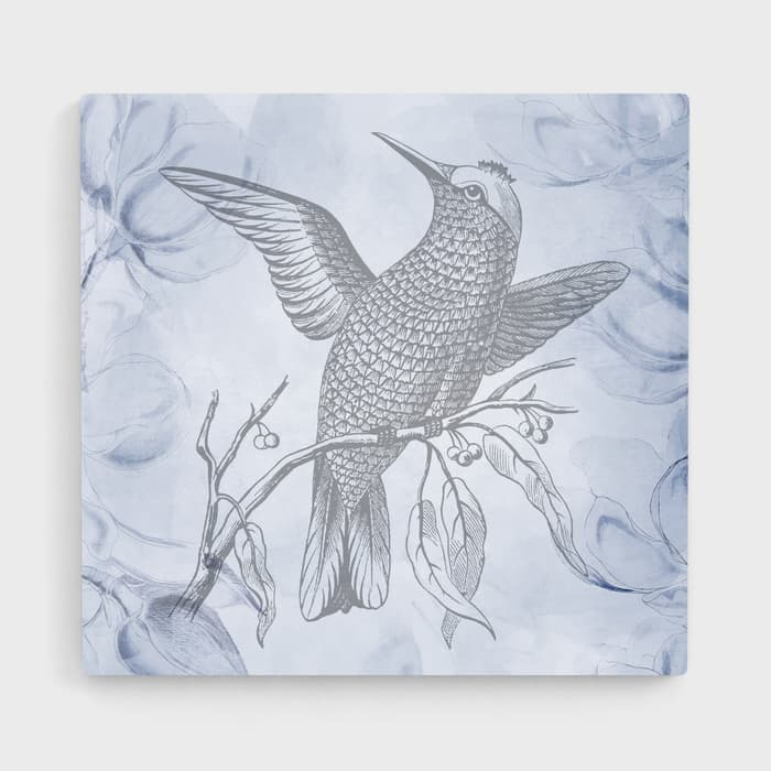 Vintage Bird - Nature Inspired High Quality Stretched Canvas For Your Wall
