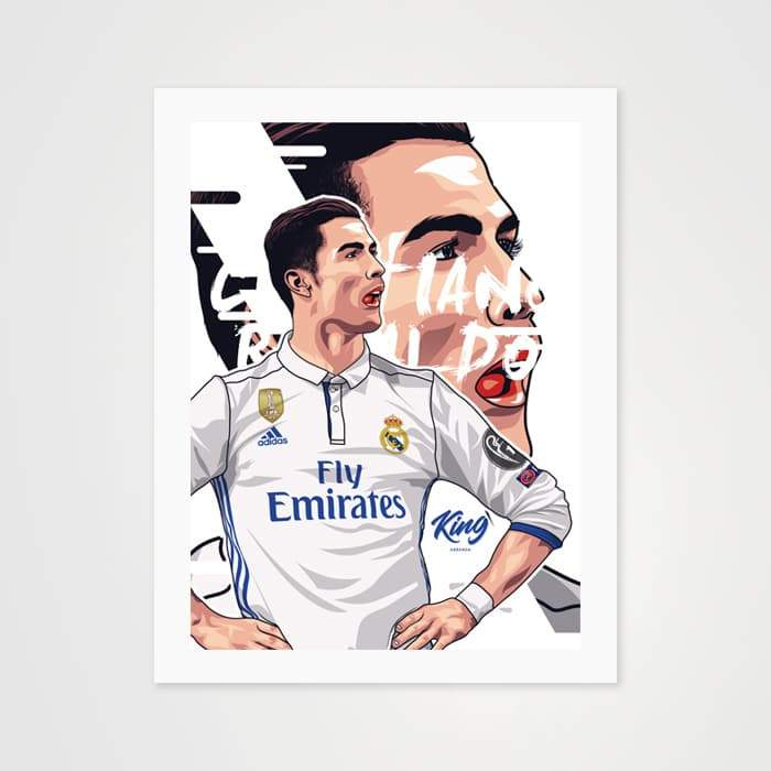 Cristiano Ronaldo - High Quality CR7 Art For Your Wall-Art Prints-GetArt