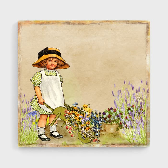 Rosie & The Barrow - High Quality High Quality Stretched Canvas For Your Wall