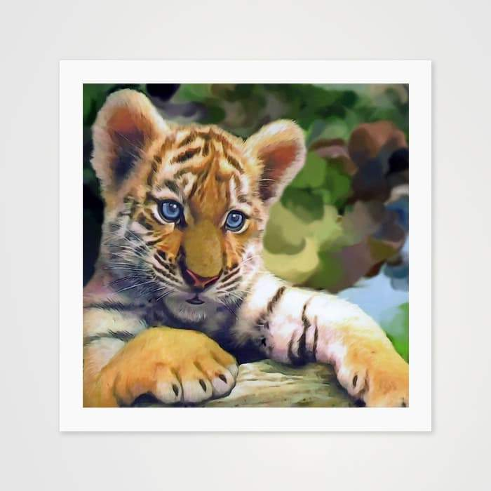 Little Kitten - Nature Inspired Art Print For Your Wall