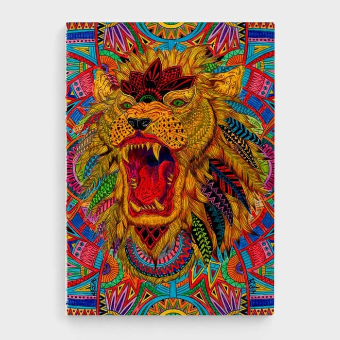 The Royal Trip - High Quality Psychedelic High Quality Stretched Canvas For Your Wall