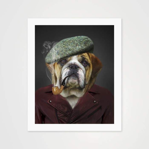 Dapper Dog - Nature Inspired Art Print For Your Wall-Art Prints-GetArt