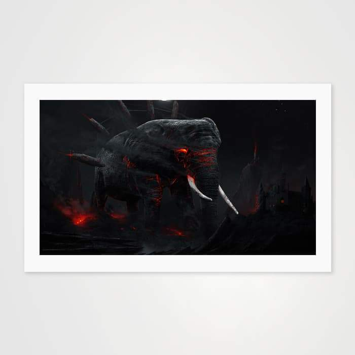 Warrior's Dream- High Quality Fantasy Art For Your Wall