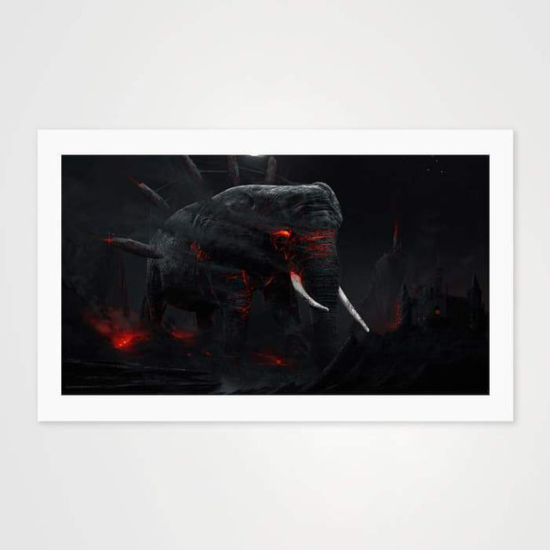Warrior's Dream- High Quality Fantasy Art For Your Wall-Art Prints-GetArt