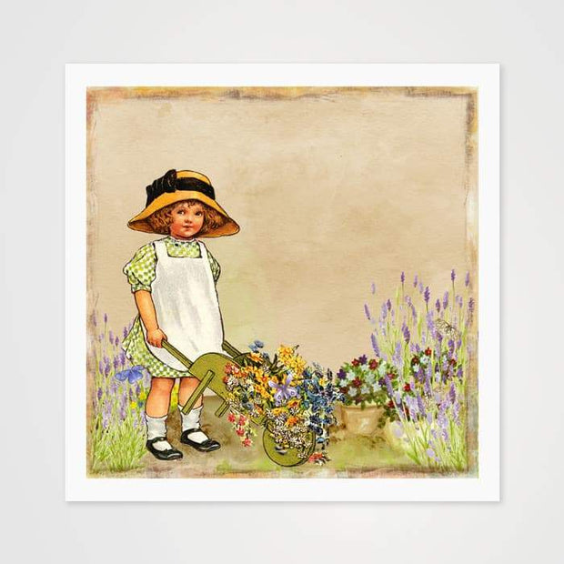 Rosie & The Barrow - High Quality Art Print For Your Wall-Art Prints-GetArt