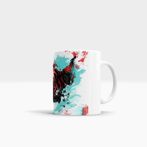 The Splatter - High Quality Art Coffee Mug-Coffee Mug-GetArt
