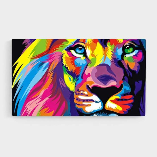 Pride - Nature Inspired High Quality Stretched Canvas For Your Wall