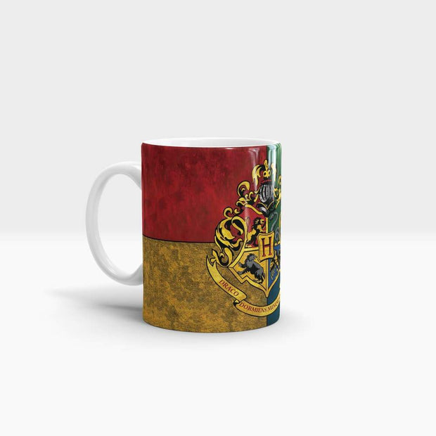 Hogwarts Crest - High Quality Harry Potter Pop Art Coffee Mug-Coffee Mug-GetArt