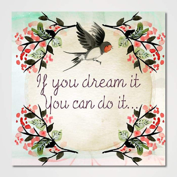 If You Dream It-Canvas-GetArt