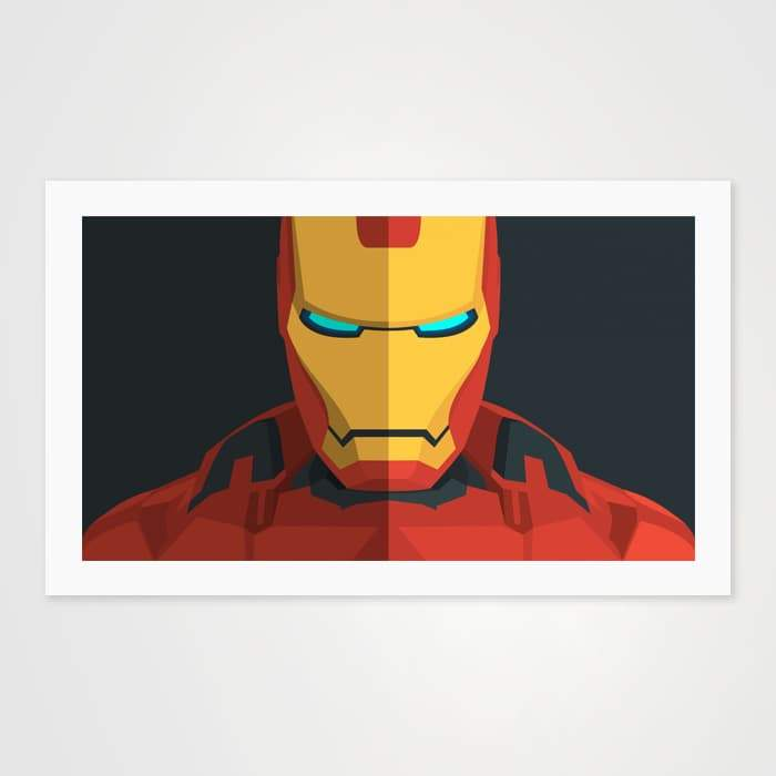 Iron Man - High Quality Pop Art For Your Wall-Art Prints-GetArt