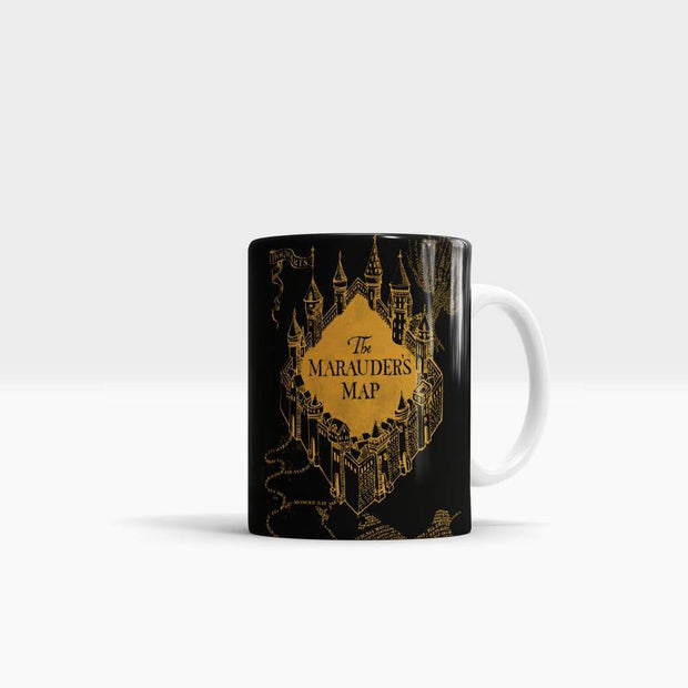 The Marauder's Map - High Quality Harry Potter Art Coffee Mug-Coffee Mug-GetArt