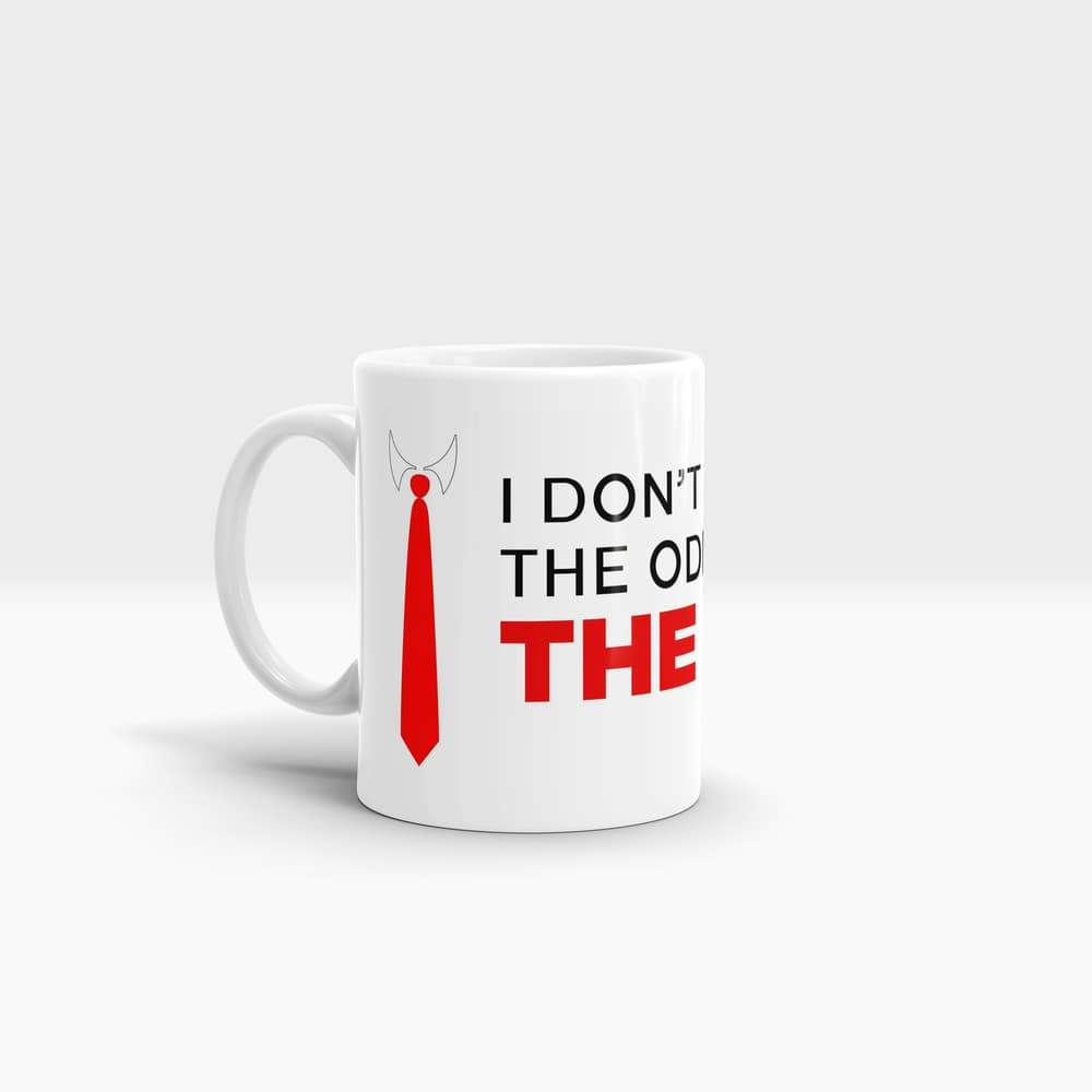 I Play The Man - High Quality Suits Art Coffee Mug