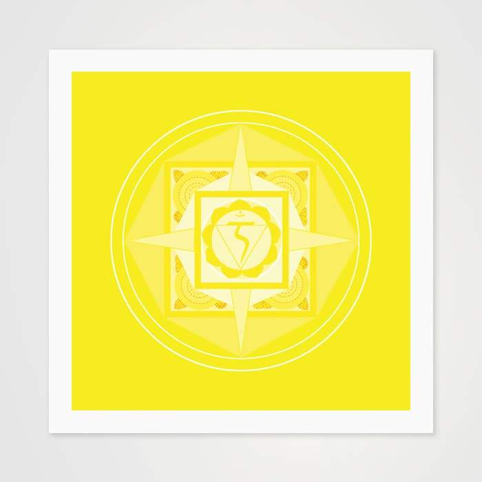 The Yellow Mantra - High Quality Art Pattern For Your Wall-Art Prints-GetArt