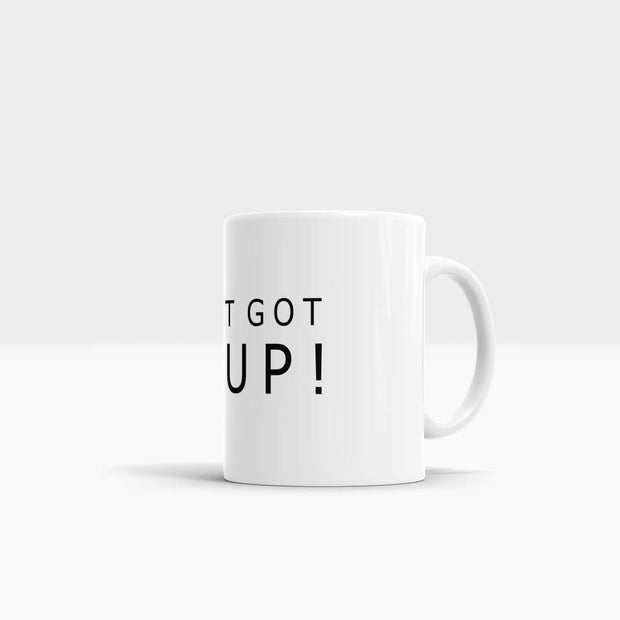 You Just Got Litt Up - High Quality Suits Art Coffee Mug-Coffee Mug-GetArt