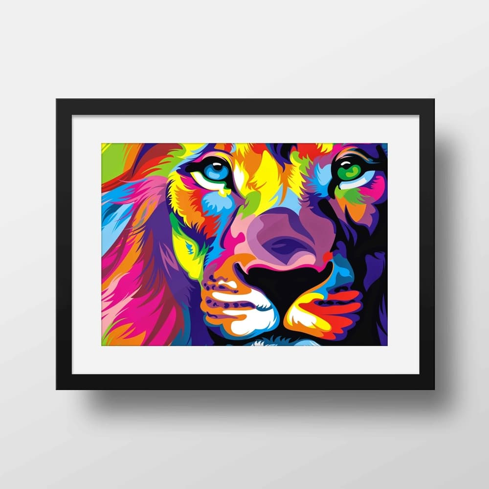 Pride - Nature Inspired Framed Mounted Art Print For Your Wall