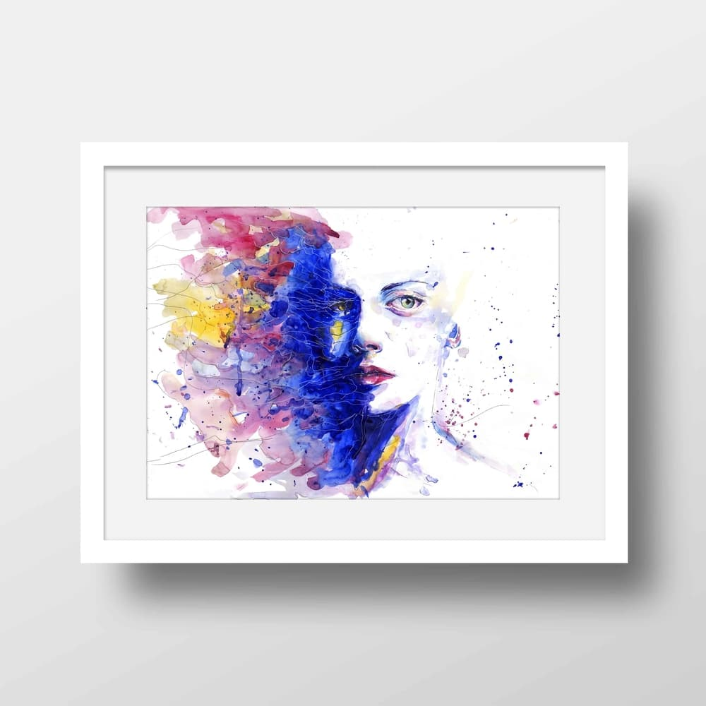 The Deeper End - High Quality Framed Mounted Art Print For Your Wall