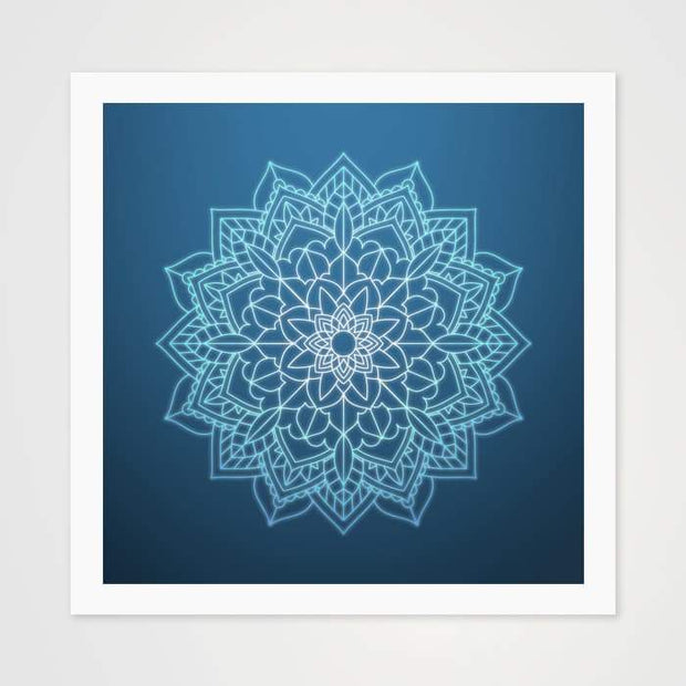 The Solace Mandala - High Quality Art Pattern For Your Wall-Art Prints-GetArt