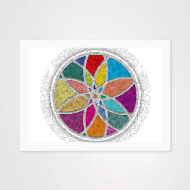Rangoli Mandala - High Quality Art Pattern For Your Wall-Art Prints-GetArt