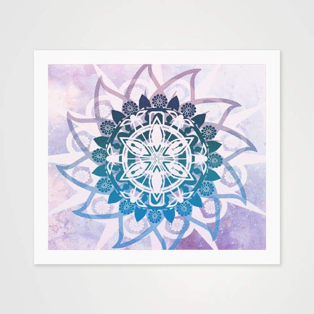 The Fire Flower Mandala - High Quality Art Pattern For Your Wall-Art Prints-GetArt