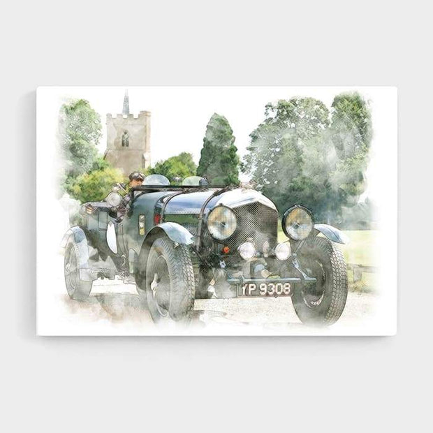 Oldtimer - High Quality High Quality Stretched Canvas For Your Wall