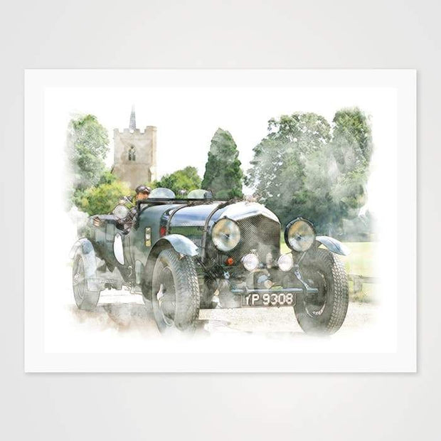 Oldtimer - High Quality Art Print For Your Wall-Art Prints-GetArt