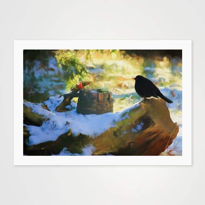 The Cuckoo - Nature Inspired Art Print For Your Wall