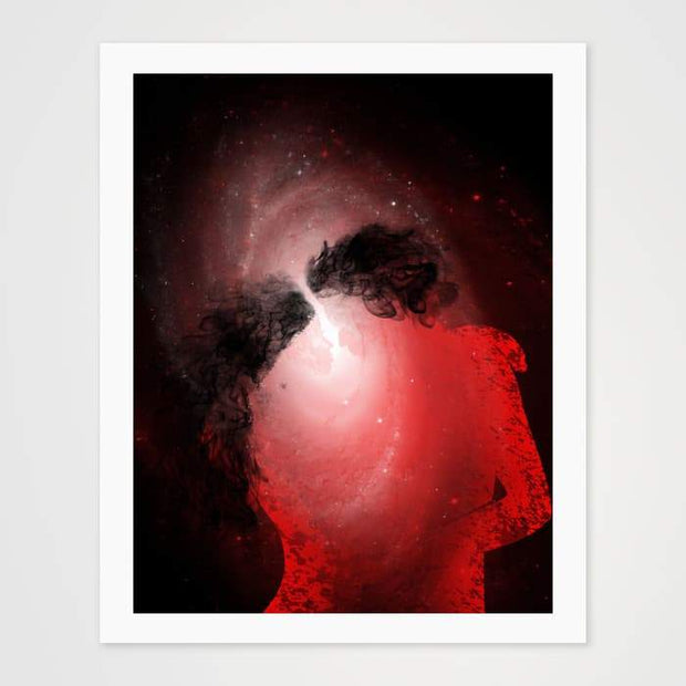 The First Kiss- High Quality Fantasy Art For Your Wall-Art Prints-GetArt